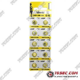 Батарейка Vinnic - 626 \ 377 \ AG4 (10шт)