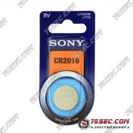 Батарейка Sony CR 2016