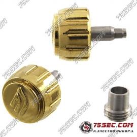 Головка с внешним футером для Casio №08 «желтое золото»