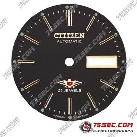 Циферблат «Citizen черный» 21 камень.