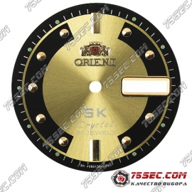 Циферблат «Orient SK crystal» желтый