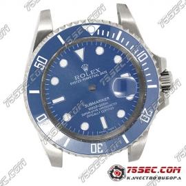 Корпус для часов Rolex Submariner синий.