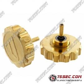 №001 Большая головка для Diesel «желтое золото»