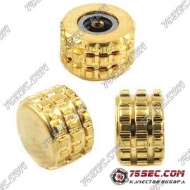 №005 Стальная головка «желтое золото»