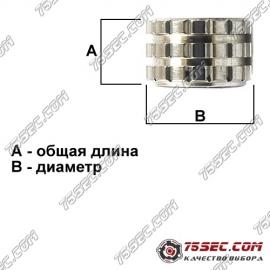 Латунная головка (3,2х3,2мм) №041 (5шт.)