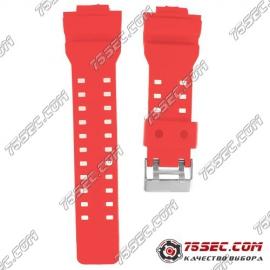№ 014 Каучуковый ремешок для Casio «красный»