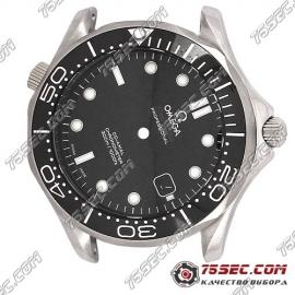 Часовой корпус для Omega seamaster diver300 черный