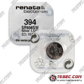 Батарейка Renata 394 \ SR 936 SW (10шт)