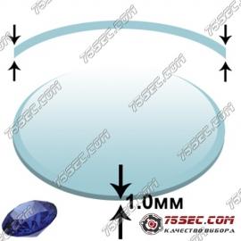 Сапфировое стекло (Сфера 1мм) диаметр 42,0мм