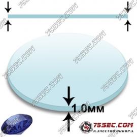 Сапфировое стекло 1,0мм диаметр 37,0мм