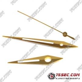 Стрелки золотого цвета для механизма ЭТА 2824.