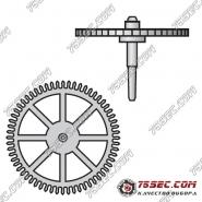 № 227 Секундное колесо (ETA 2000-1).