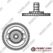 № 242 Приводное колесо с трибом (ETA 2000-1).