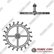 № 705 Анкерное колесо (ETA 2000-1).