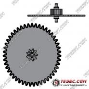 № 1481 Редукционное колесо (ETA 2824-2).