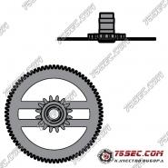 № 242 Приводное (минутное) колесо с трибом (ETA 2824-2).