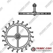 № 705 Анкерное колесо (ETA 2824-2).
