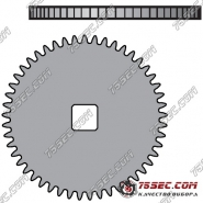№ 415 Барабанное колесо (ETA 2892 A2)