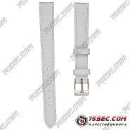 Белый матовый ремешок варан Bandco(VR-MP-0303)