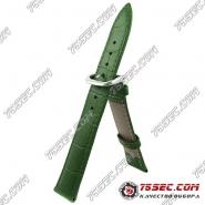 Зеленый ремешок со строчкой, аллигатор KUR(AL-MU-1111)
