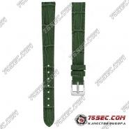 Зеленый ремешок со строчкой Romiks(AL-MP-1111)