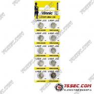 Батарейка Vinnic - L1131 \ 389 \ AG10 (10шт)