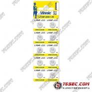 Батарейка Vinnic - L1154 \ 357 \ AG13 (10шт)