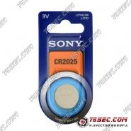 Батарейка Sony CR 2025