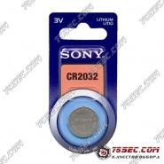 Батарейка Sony CR 2032