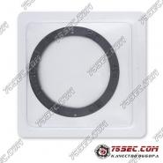 Безель темно-серого цвета для Rolex 38х30,6х2,1мм