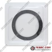 Безель темно-серого цвета для Rolex 38,6х30,2х2,1мм