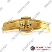 Бабочка «желтое золото» (вставка 6мм) ширина кнопок 21мм.