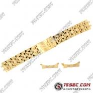 Браслет для часов Tissot  PRS 200 золотого цвета