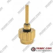 №33 Кнопка (Diesel) «желтое золото»