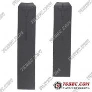 Ремешок из черного каучука для часов Tissot Z353