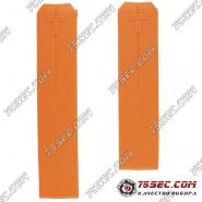 Ремешок из оранжевого каучука для часов Tissot Z353