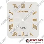 Циферблат «Grantime» стального цвета