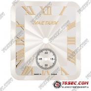 Циферблат для мактайм «золотые цифры» с хронографом на 6