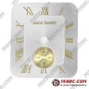 Циферблат для мактайм «золотой хронограф» на 6 часов