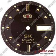 Циферблат «Orient SK crystal» черный.