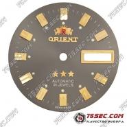 Циферблат «Orient» коричнево-серый