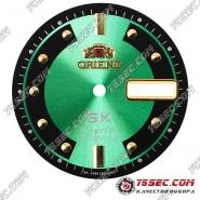 Циферблат «Orient SK crystal» зеленый