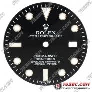 Циферблат «Rolex submariner» черный
