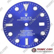 Циферблат «Rolex submariner» синий
