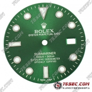 Циферблат «Rolex submariner» зеленый