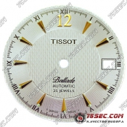 Циферблат «Tissot Ballade»белый 25 камней.