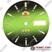 Циферблат «Orient» салатово-черный 21 камень