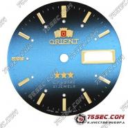 Циферблат «Orient» черно-синий 3 звезды