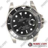 Корпус для часов Rolex Submariner черный.