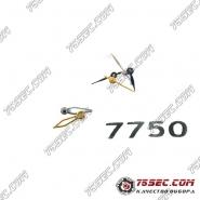 Стрелки хронографа для механизмов ЭТА 7750.